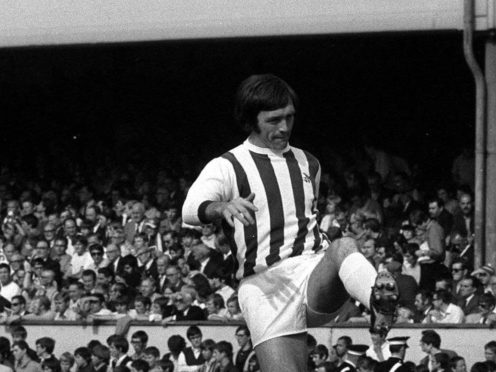 The brain injury which led to Jeff Astle's death in 2002 was caused by repeated heading of a football, a coroner ruled (PA Archive)