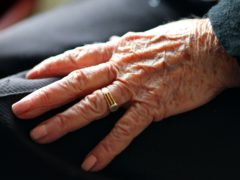 Care home visitors will be allowed to hold hands with their friend or relative (Peter Byrne/PA)