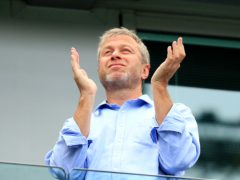 Roman Abramovich has put personal funds into Chelsea's latest anti-racism initiatives (Mike Egerton/PA)