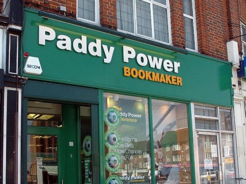 Paddy Power owner Flutter believes the high street will still have a part to play for the business but online growth is soaring (Michael Stephens/PA)