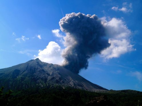 The eruption killed thousands of people across Europe as a sulphurous haze spread across the continent (James Hickey/University of Exeter/PA)