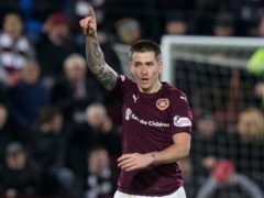 Jamie Walker wrapped up victory for Hearts (Jeff Holmes/PA)