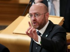 Patrick Harvie has called for the abolition of the monarchy following the latest royal revelations (Jane Barlow/PA)