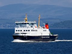 The RMT union criticised CalMac's 'inexperienced and inflexible negotiating team' (Graham Wilson/Caledonian MacBrayne/PA)