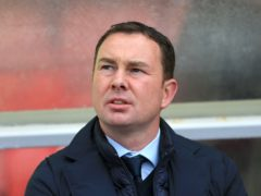 Derek Adams was pleased with his side's win (Nigel French/PA)