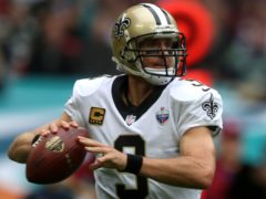 Drew Brees has announced his retirement after 20 years in the NFL (Simon Cooper/PA)