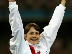 Kelly Sotherton claimed heptathlon gold in Melbourne with a final total of 6,396 points (Gareth Copley/PA).