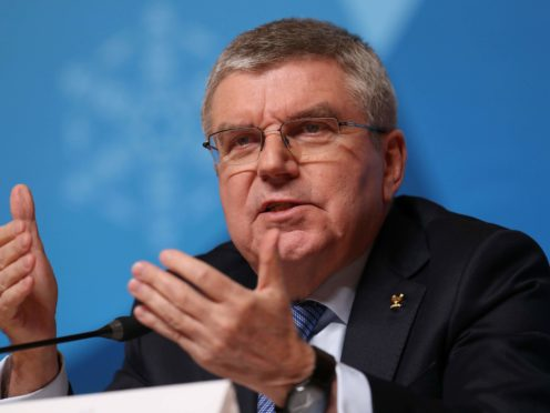 IOC president Thomas Bach has announced a vaccination programme for athletes (PA)