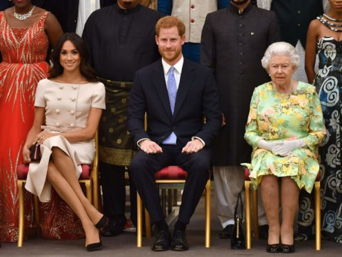 The Queen will 'ignore' the Duke and Duchess of Sussex's much-anticipated interview with Oprah Winfrey (John Stillwell/PA)