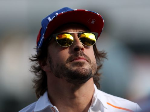 Fernando Alonso says he is in the best shape of his career (David Davies/PA)