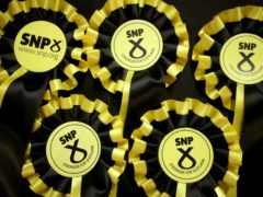 The SNP would regain a majority at Holyrood, according to the poll (Jane Barlow/PA)