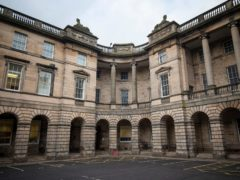The hearing is taking place virtually at the Court of Session in Edinburgh (Jane Barlow/PA)