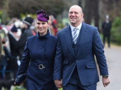 Zara and Mike Tindall (Joe Giddens/PA)