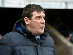 Tommy Wright enjoyed his first win as Kilmarnock manager (Ian Rutherford/PA)