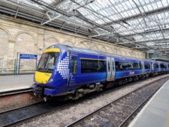ScotRail says it is 'currently facing the most significant financial crisis in its history' (Jane Barlow/PA)