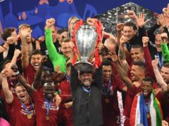 Liverpool manager Jurgen Klopp insists they are not thinking about the 'fairytale' of winning the Champions League again (Joe Giddens/PA)