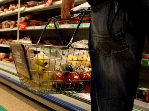 Britons have spent £15.2 billion more on groceries during the pandemic as lockdowns and restrictions over the past year have forced the closure of pubs, cafes and restaurants, new figures show (PA)