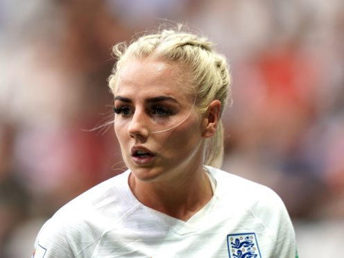 England defender Alex Greenwood wants to move on from the social media abuse she received during the 2019 World Cup (John Walton/PA Images).
