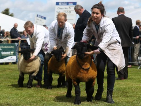 The Royal Highland Show normally takes place every summer (Andrew Milligan/PA)