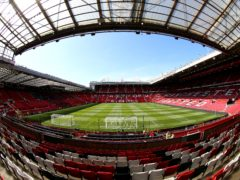 Manchester United Women are set to play at Old Trafford for the first time on Saturday (Nigel French/PA).