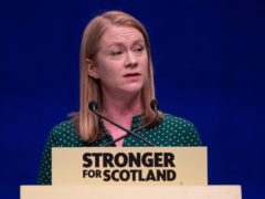 The Equalities Secretary Shirley-Anne Somerville will introduce the Bill if the SNP win May's election (Jane Barlow/PA)
