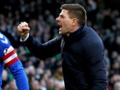 Rangers boss Steven Gerrard is looking forward to a title celebration (Andrew Milligan/PA)