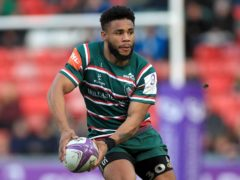 Kyle Eastmond during his Leicester Tigers days (PA)