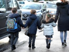 All primary pupils will be in school from Monday (Nick Ansell/PA)