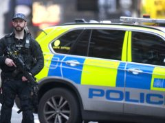 Armed police (Victoria Jones/PA)