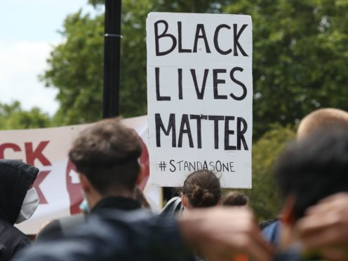 The commission was set up in the wake of the Black Lives Matter movement (Jonathan Brady/PA)