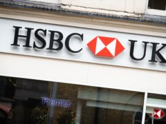 Banking giant HSBC has bowed to investor pressure and pledged to ramp up its climate change plans with a shareholder vote on the proposals. (Aaron Chown/PA)