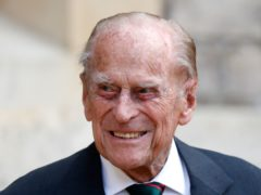 The Duke of Edinburgh has been described as 'comfortable' by Buckingham Palace (Adrian Dennis/PA)