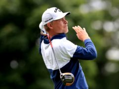 Denmark's Jeff Winther holds a two-shot halfway lead in the Qatar Masters (Mike Egerton/PA)