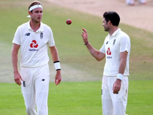 Stuart Broad (left) and James Anderson (right) have been tipped to play a big part in the Ashes next winter (Mike Hewitt/PA)