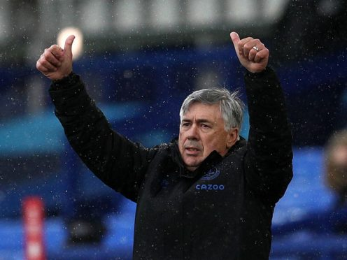 Carlo Ancelotti insists expectations are a good thing as his side battle for European football (Jan Kruger/PA)