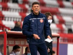 Stevenage manager Alex Revell was delighted with the victory (John Walton/PA)