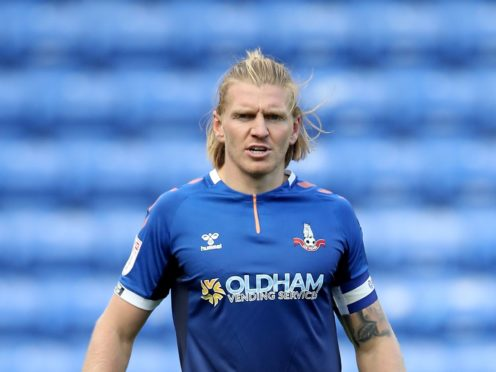 Carl Piergianni could return to the starting line-up for Oldham (Martin Rickett/PA)