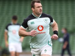Cian Healy is Ireland's most-capped prop (Brian Lawless/PA)