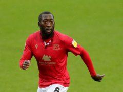 Toumani Diagouraga was on target for Morecambe (Richard Sellers/PA)