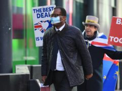 Business Secretary Kwasi Kwarteng backed Dominic Raab over his trade comments (Aaron Chown/PA)