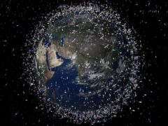 A collision with space debris could have a big impact on satellite services people rely on every day (ESA/PA)