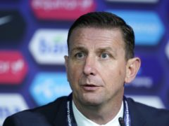 Ian Baraclough believes a 3-5-2 formation is best suited to Northern Ireland's squad (Fredrikh Hagen/PA)