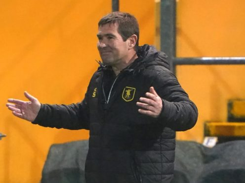Nigel Clough is unhappy with his team's defending (Zac Goodwin/PA)