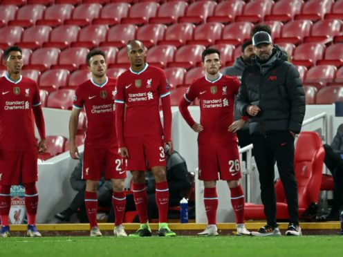 Liverpool manager Jurgen Klopp will pull players from international duty if they have to fly back from a 'Red List' country (Laurence Griffiths/PA)