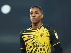 Watford forward Joao Pedro was sent off at Bournemouth on Saturday (Tess Derry/PA)
