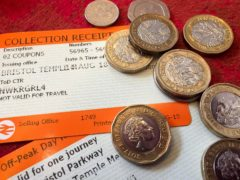 Penalties for dodging rail fares in England and Wales could be doubled under Government plans (Ben Birchall/PA)