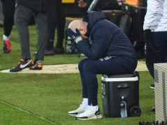 Mark Warburton bemoaned a lack of cutting edge after the home loss to Huddersfield (Joe Giddens/PA)