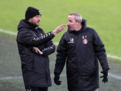Johnnie Jackson, left, is due to take charge of Charlton after Lee Bowyer's exit (Richard Sellers/PA)