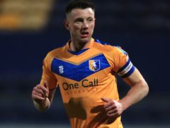 Mansfield captain Ollie Clarke will be assessed (Mike Egerton/PA)