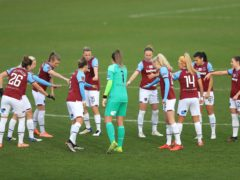 West Ham Women have joined the initiative (Adam Davy/PA)
